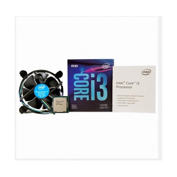 [인텔] 코어i3-9세대 9100 (커피레이크-R) (정품)