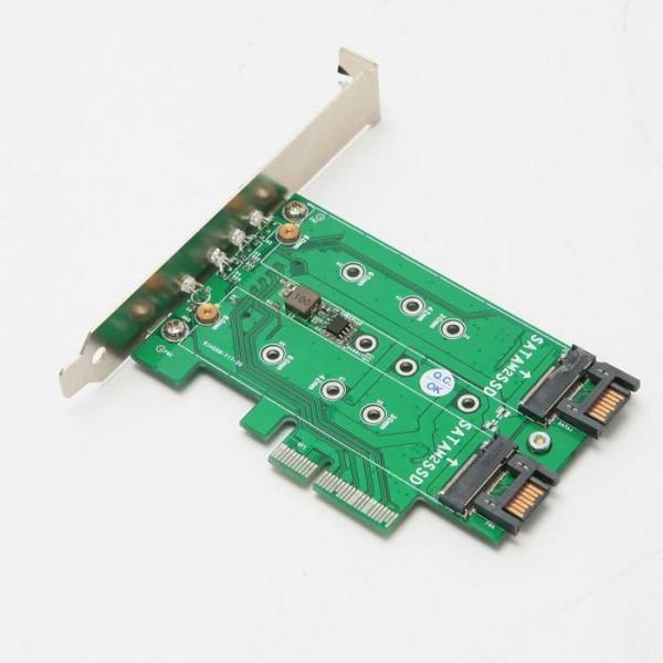 [디지탈그리고나] e-STAR ES-SE221 M.2 SSD PCI-Express 컨버터