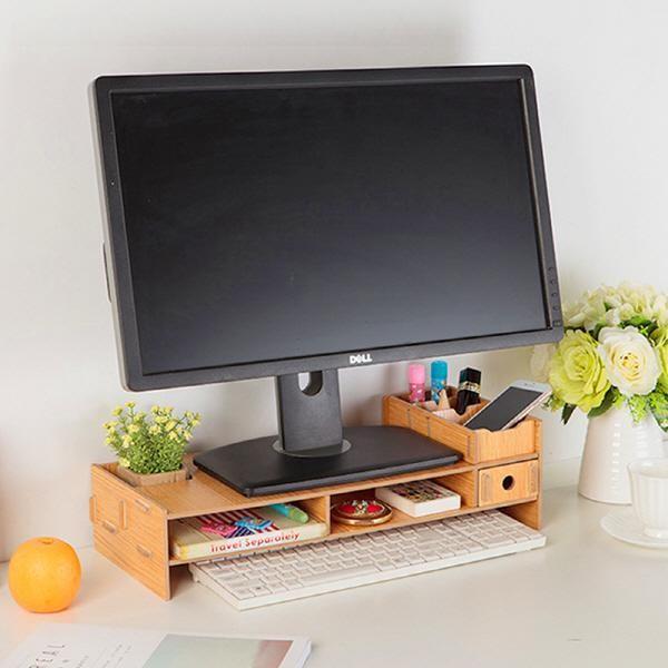 [KJ글로벌]  원목 조립 모니터받침대 KJ-M901