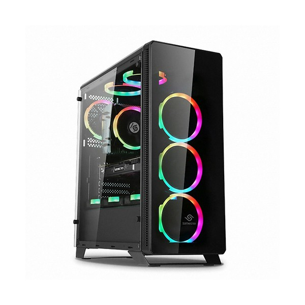 [ABKO] SUITMASTER [컴코블랙페스타] 512G 오시리스 스펙트럼 RGB HALO 블랙