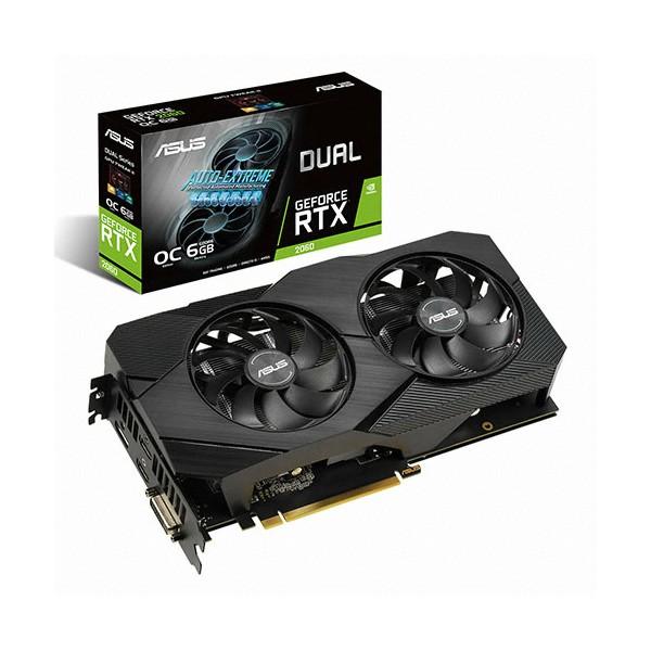 [ASUS] DUAL [컴코블랙페스타] 지포스 RTX 2060 O6G EVO D6 6GB