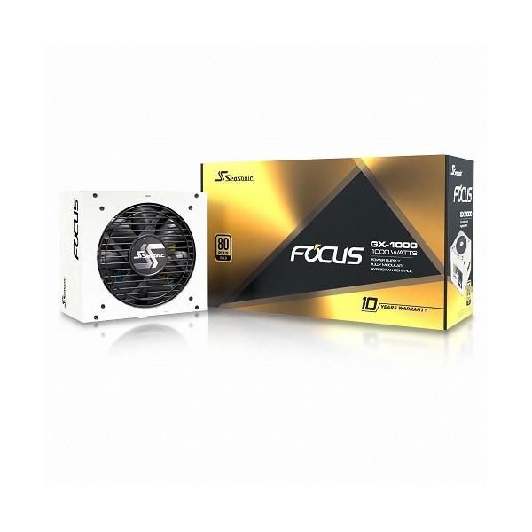 [시소닉]  [컴코블랙페스타] FOCUS GOLD GX-1000 WHITE Full Modular