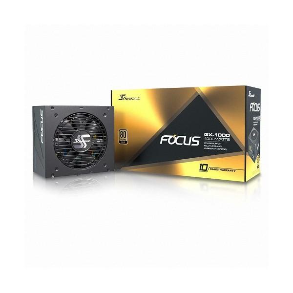 [시소닉]  [컴코블랙페스타] FOCUS GOLD GX-1000 Full Modular
