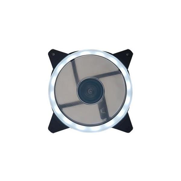 [쿨러텍] 쿨러텍 USB-12025-LED RING-WHITE(DUO)