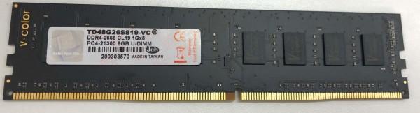 [V-Color]  DDR4 16G PC4-21300 BLACK 제이씨현