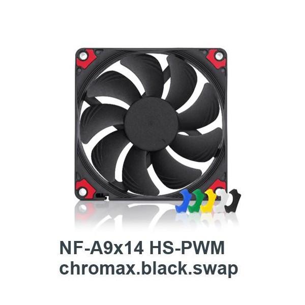 [NOCTUA]  NF-A9x14 HS-PWM chromax.black.swap