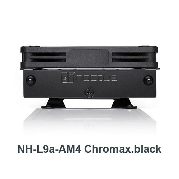 [NOCTUA]  NH-L9a-AM4 Chromax.black