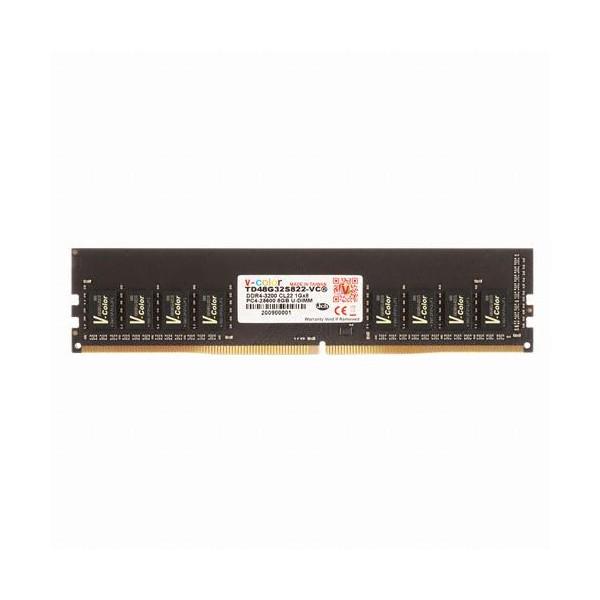 [V-Color]  DDR4 8G PC4-25600 BLACK 제이씨현