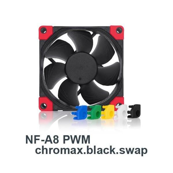 [NOCTUA]  NF-A8 PWM chromax.black.swap