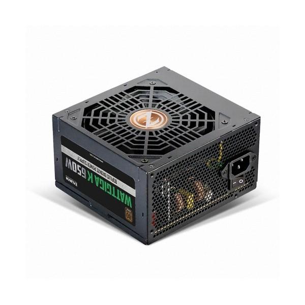 [잘만]  [컴코블랙페스타] WATTGIGA K 650W 80PLUS BRONZE 230V EU 벌크