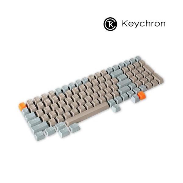 [키크론]  키크론 K4용 영문키캡 브라운