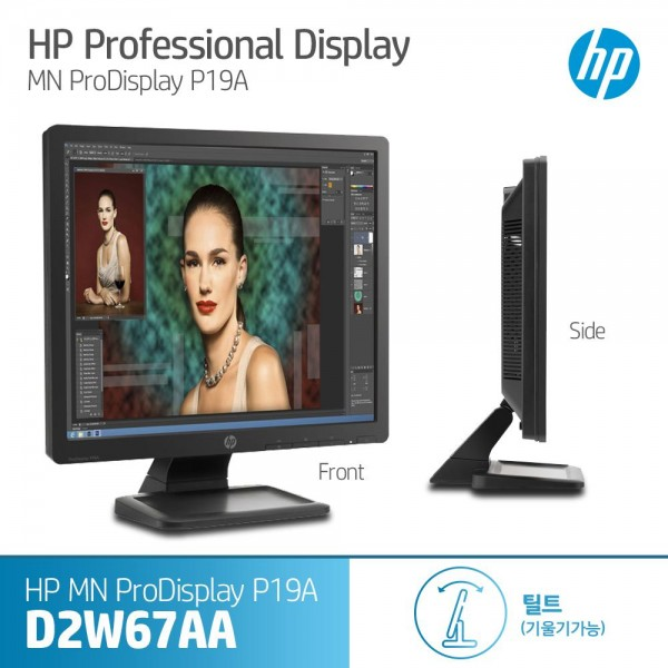 [HP]  Pro Display P19A Monitor [D2W67AA]