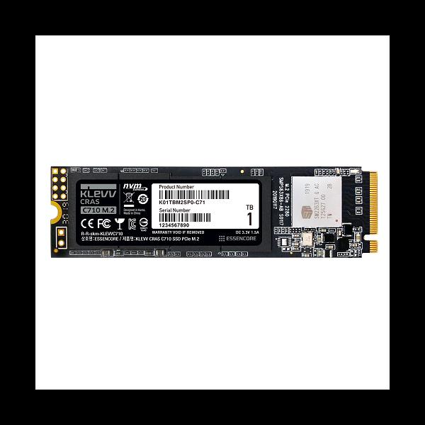 [ESSENCORE] 에센코어 (벌크) KLEVV CRAS C710 M.2 2280 NVMe 1TB TLC
