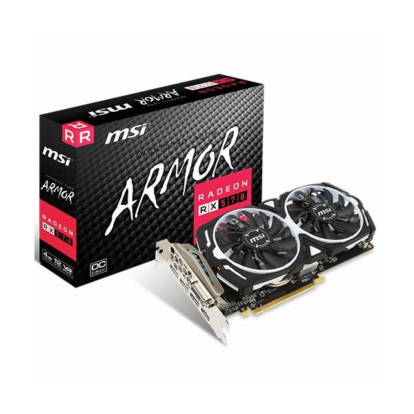 [MSI]  [컴코 7주년 핫딜상품] 라데온 RX 570 아머 OC D5 4GB