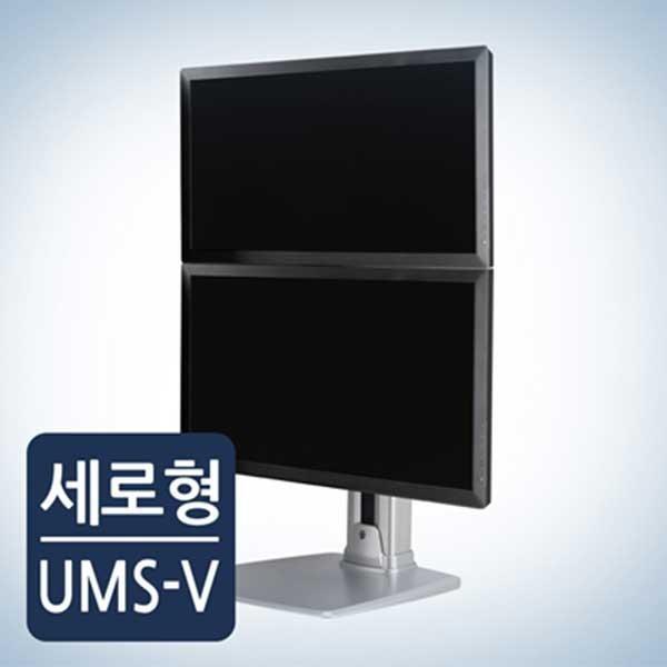 [카멜인터내셔널] 카멜 고든 세로형 듀얼모니터 스탠드 UMS-V