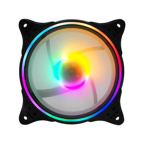 [Ucommerce] Ucommerce LED 쿨링팬 120mm 7컬러 시스템 PC 쿨러 저소음 튜닝
