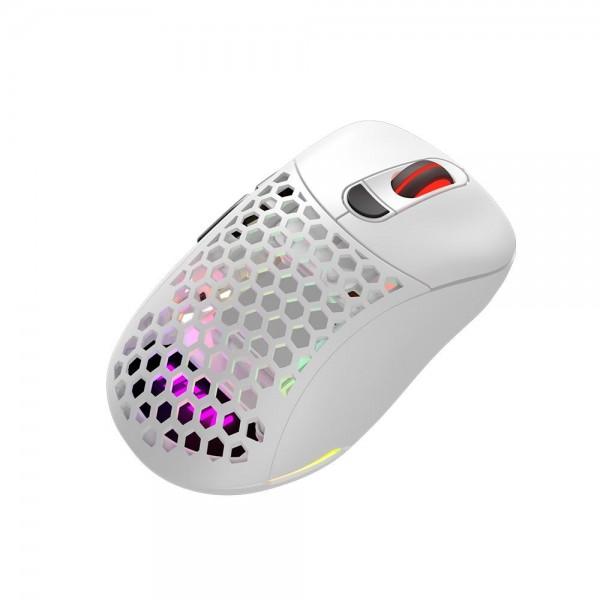 [제닉스]  TITAN G AIR wireless 타공 무선 게이밍 마우스 (화이트)
